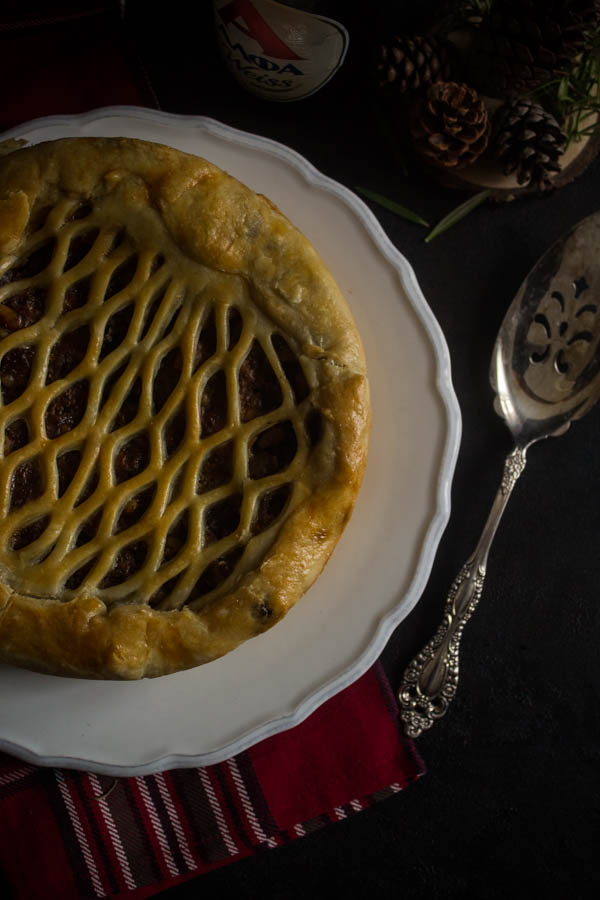 mushroom chestnut meat pie 2