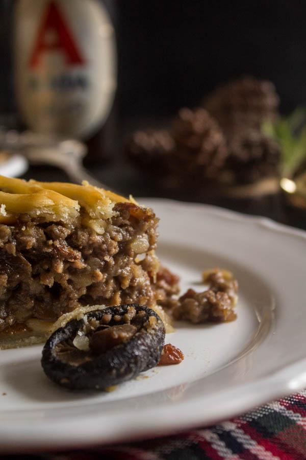mushroom chestnut meat pie 3
