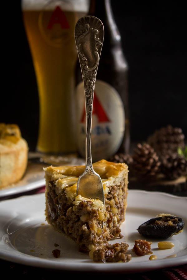 mushroom chestnut meat pie 4