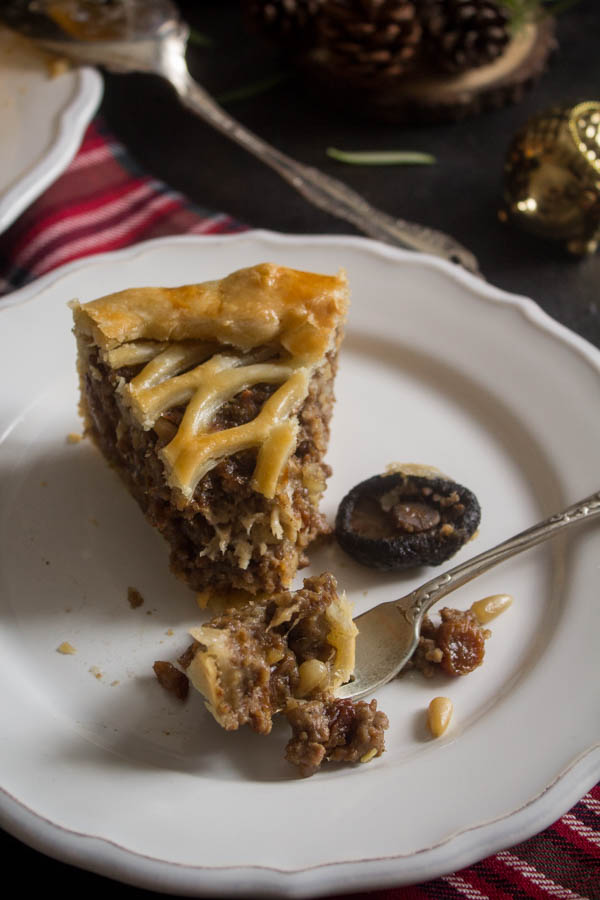 mushroom chestnut meat pie 5