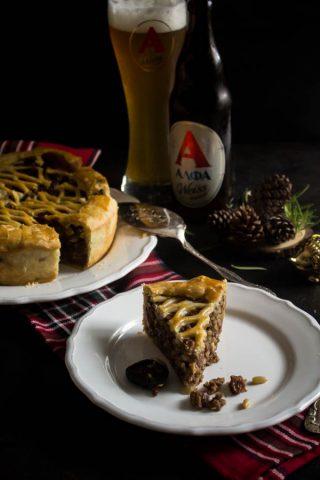 mushroom chestnut meat pie 8