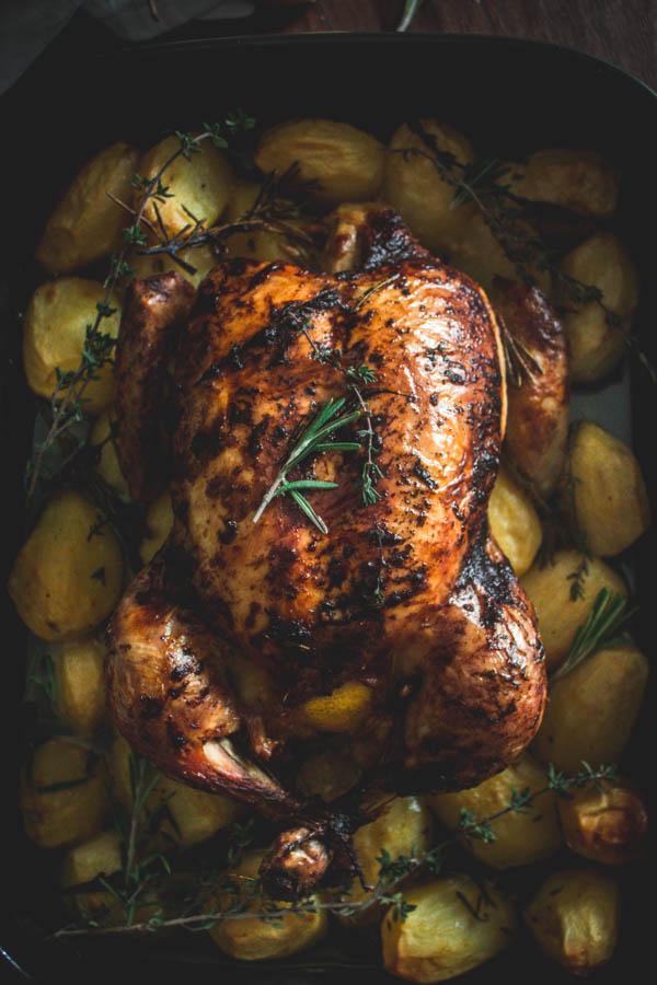 herbed roast chicken 1 (1 of 1)