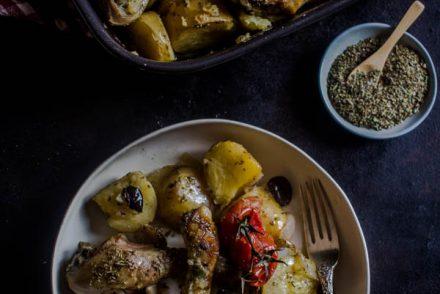 mediterranean herbs chicken potato bake 1 (1 of 1)