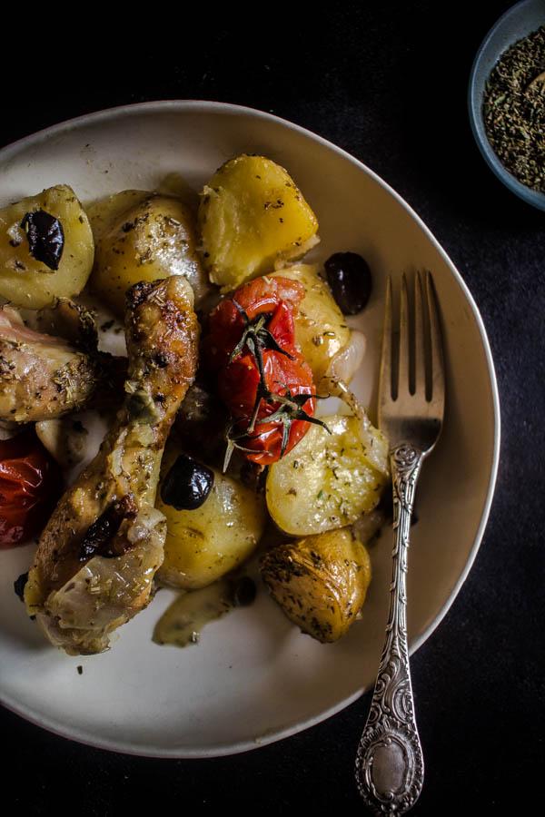 mediterranean herbs chicken potato bake 5 (1 of 1)