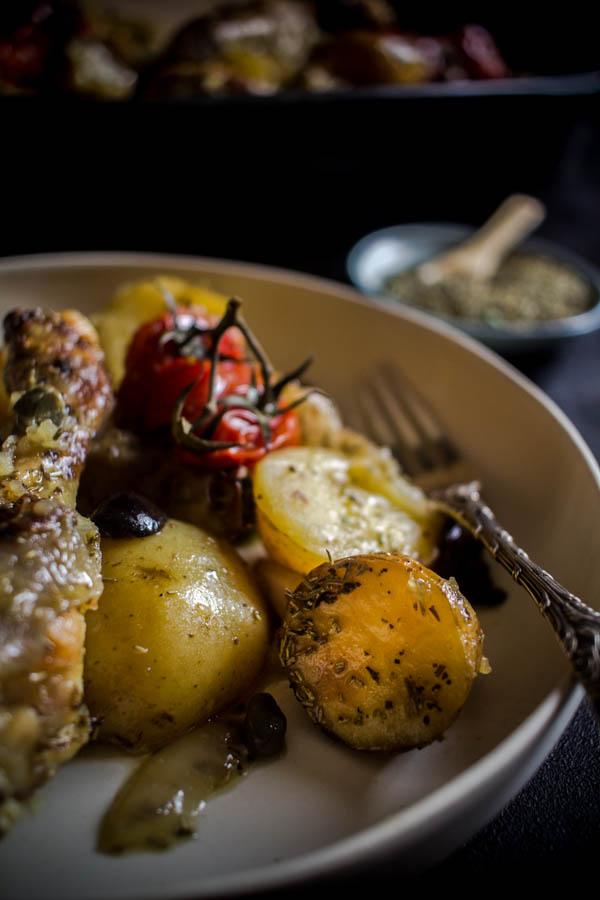 mediterranean herbs chicken potato bake 7 (1 of 1)
