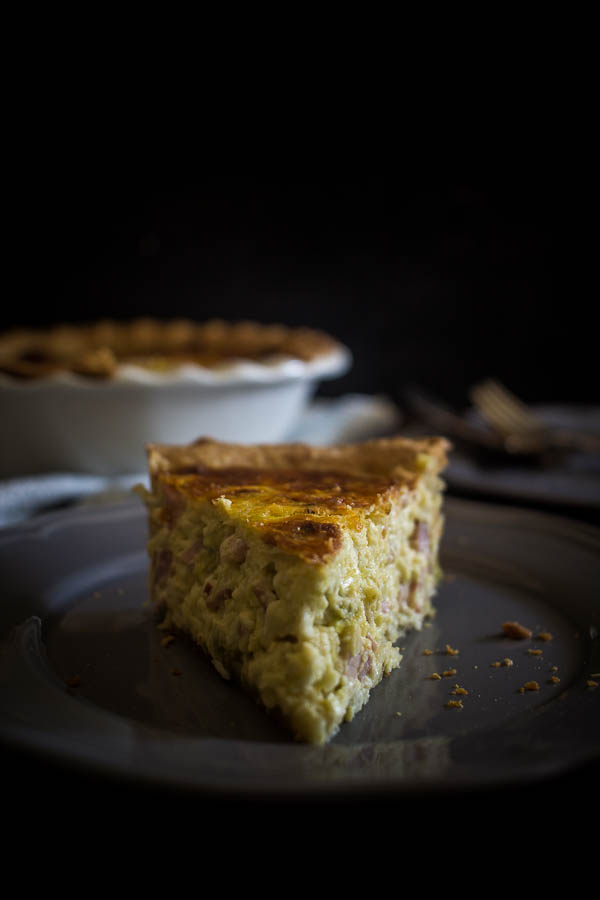 cheese leek quiche 3