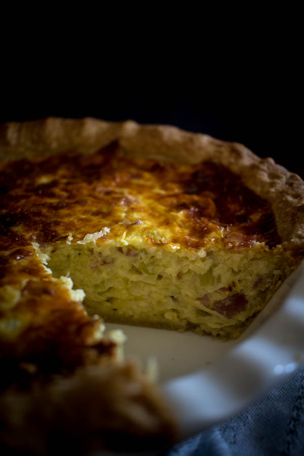 cheese leek quiche 4