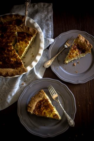 cheese leek quiche 5