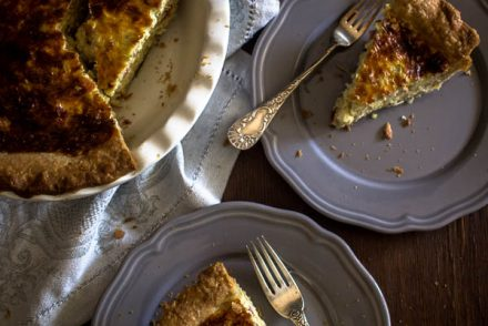cheese leek quiche 5