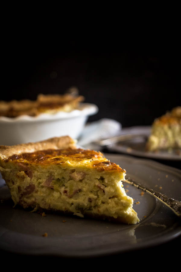 cheese leek quiche 7