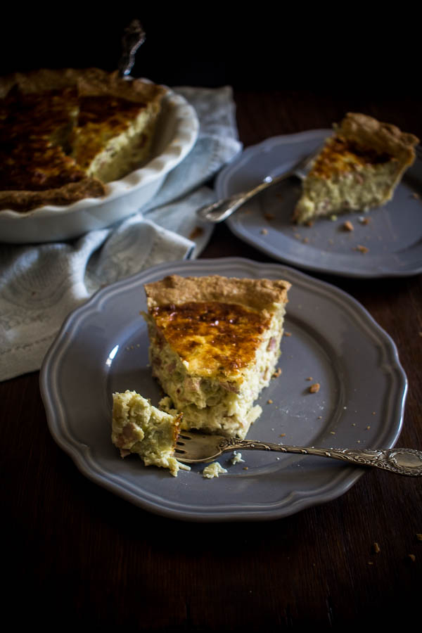 cheese leek quiche 8
