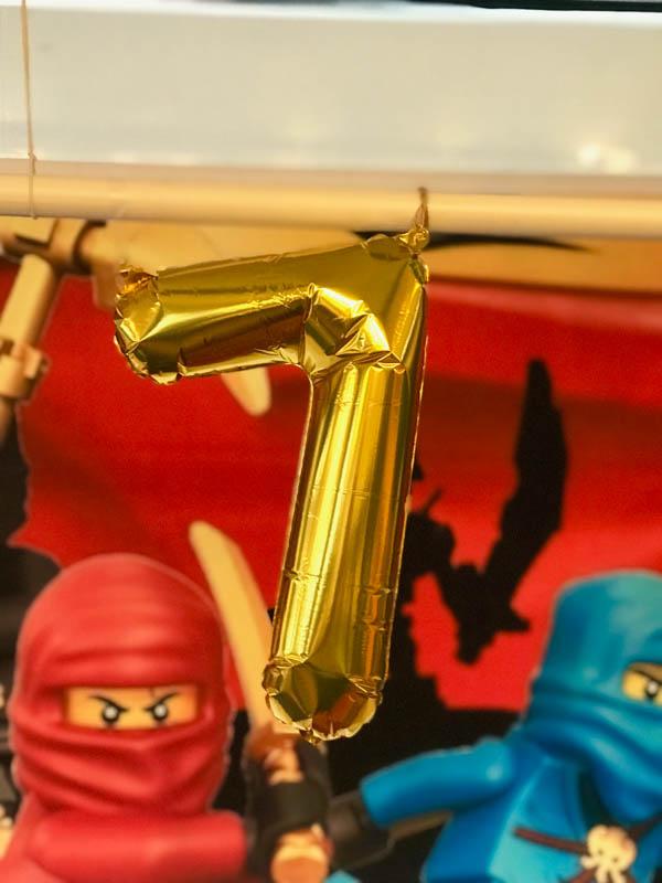 lego ninjago party ballon
