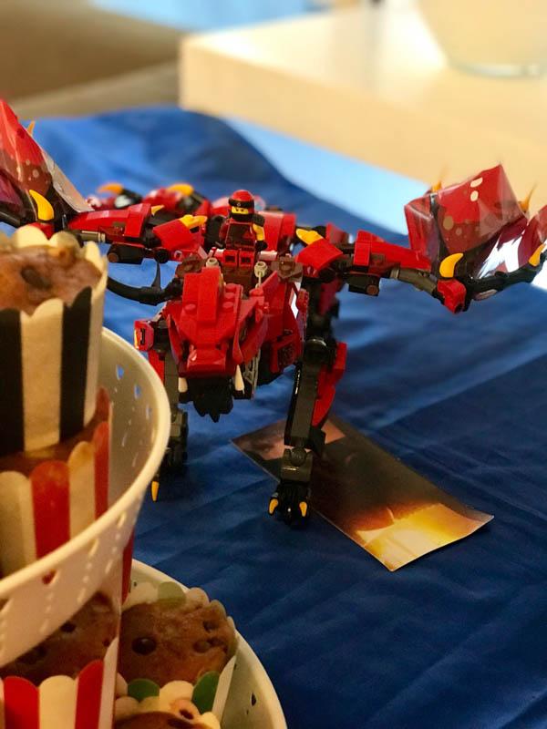 lego ninjago party decorations 2