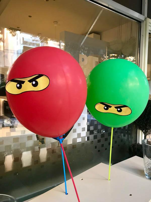 lego ninjago party decorations 4