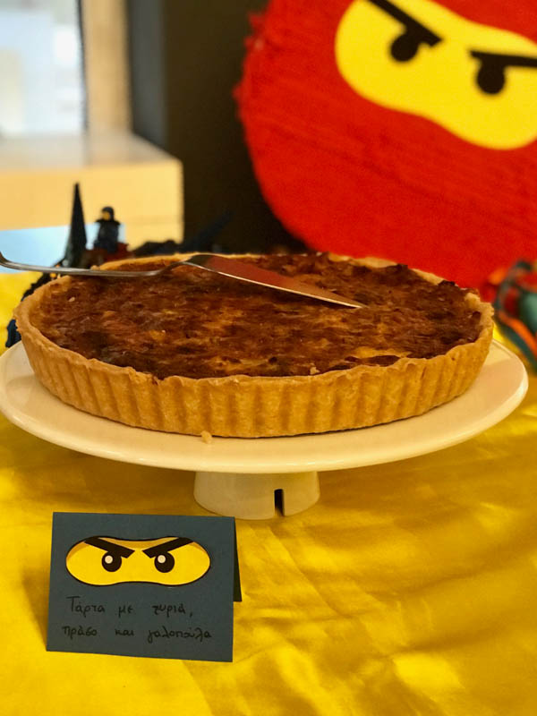 lego ninjago party food 2