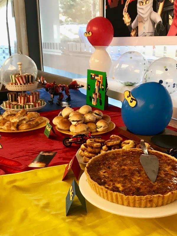 lego ninjago party food 3