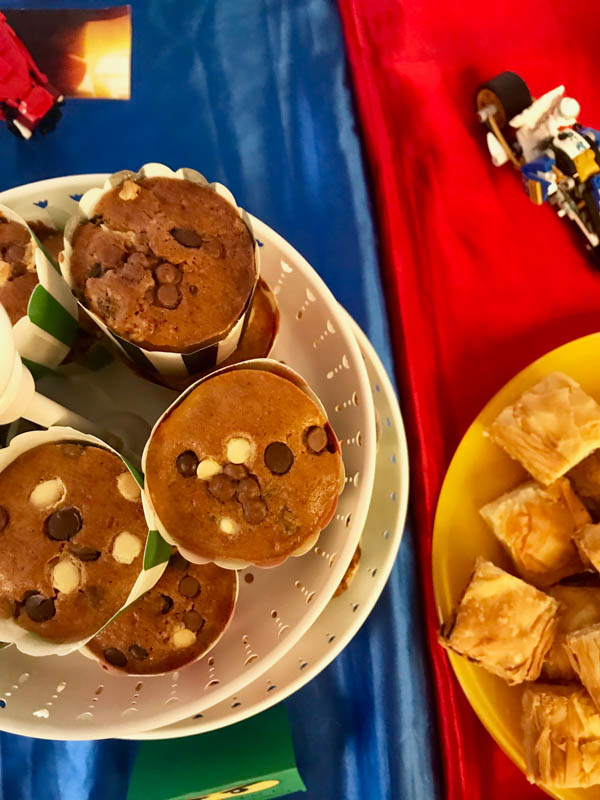 lego ninjago party food muffins 2