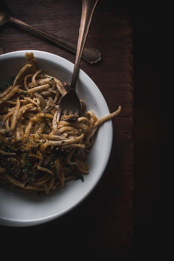 wild mushroom pasta 11