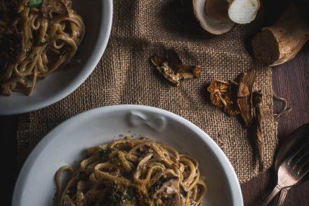 wild mushroom pasta 4