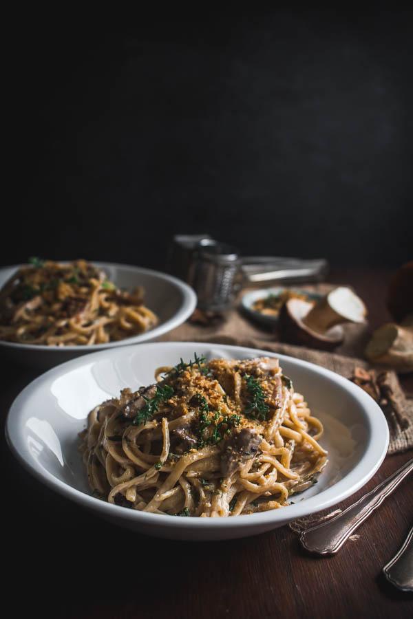 wild mushroom pasta 5