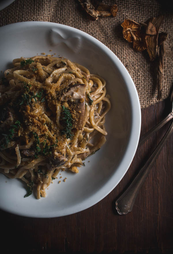 wild mushroom pasta 6