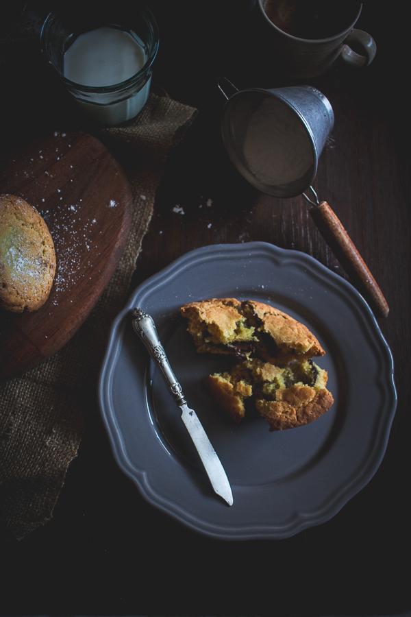 nutella stuffed muffins_-4