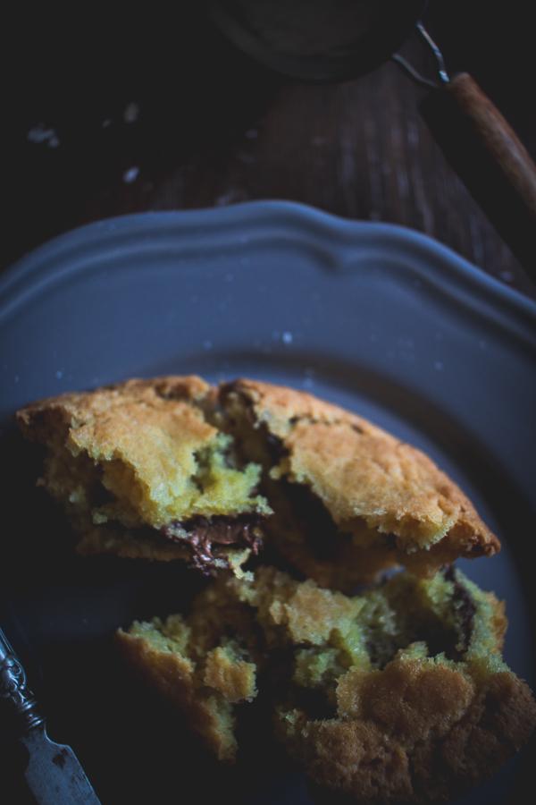 nutella stuffed muffins_-6