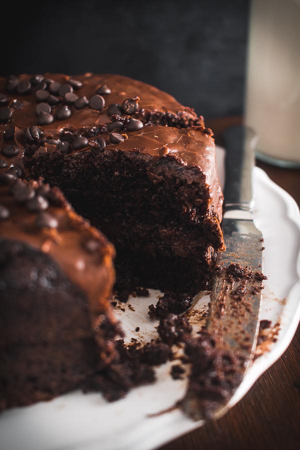 choco fudge cake-10