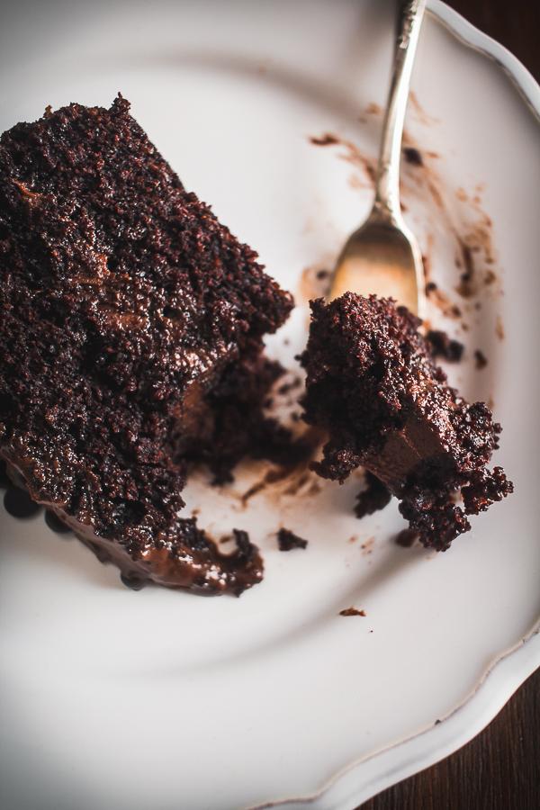 choco fudge cake-11