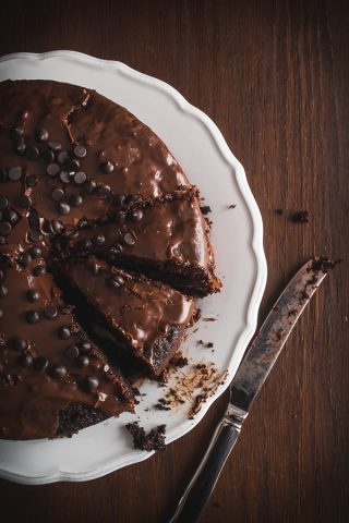 choco fudge cake-4