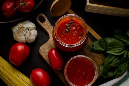 tomato basil pasta sauce-3