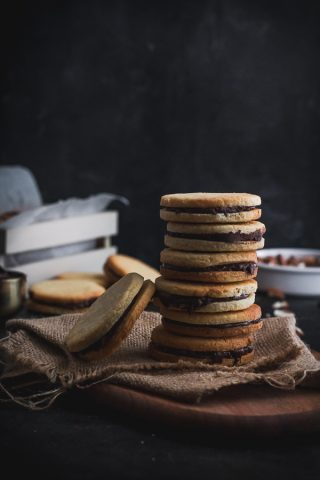 almond sandwich cookies-2