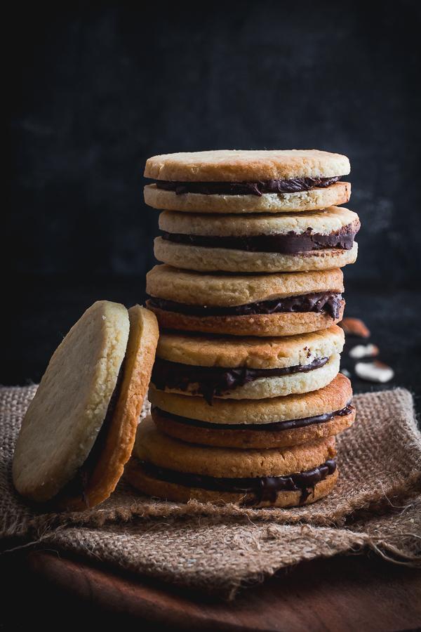 almond sandwich cookies-4