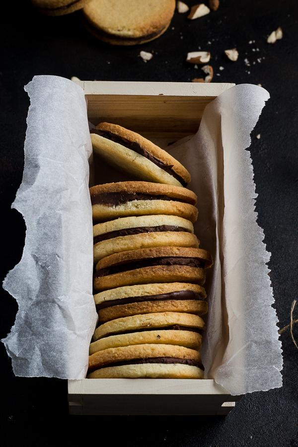 almond sandwich cookies-7