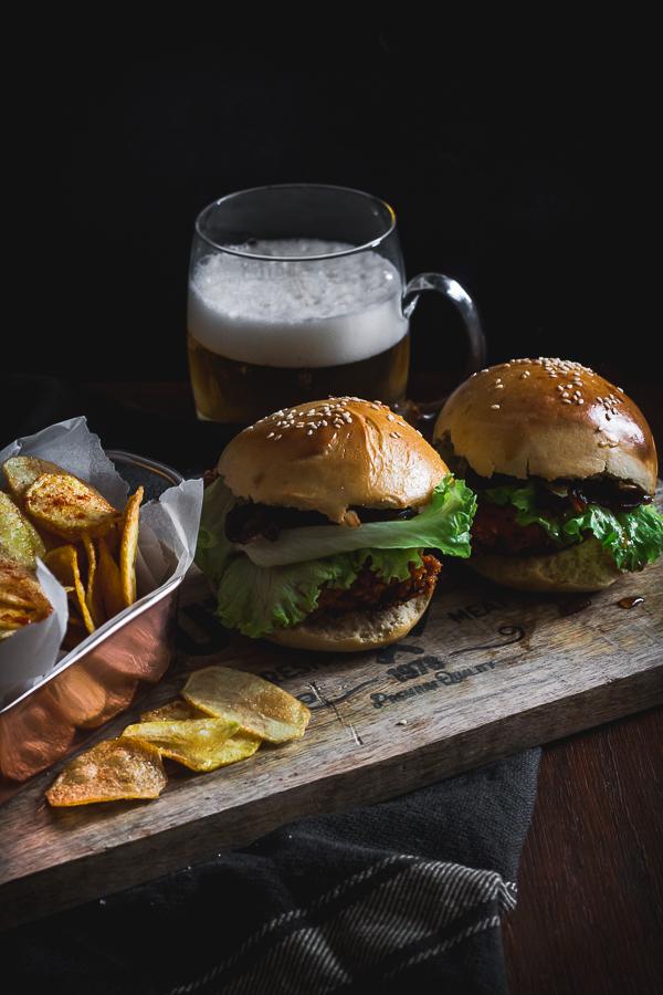 buttermilk chicken burger-1