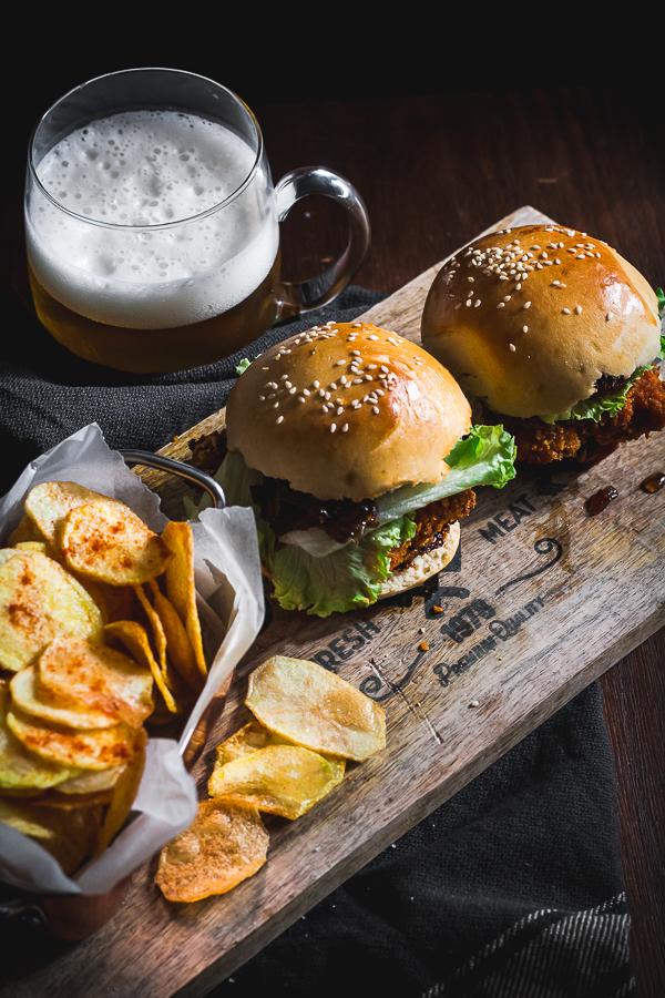 buttermilk chicken burger-5