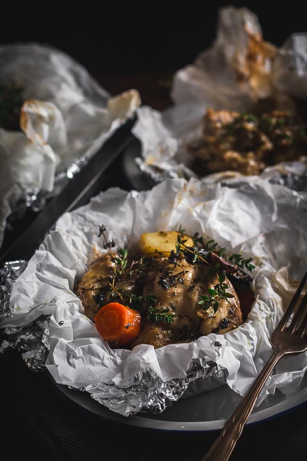 chicken vegetable foil packs-4