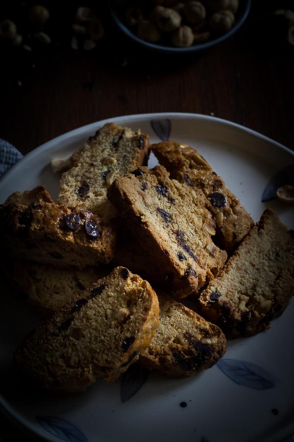 hazelnut chocolate biscotti-4