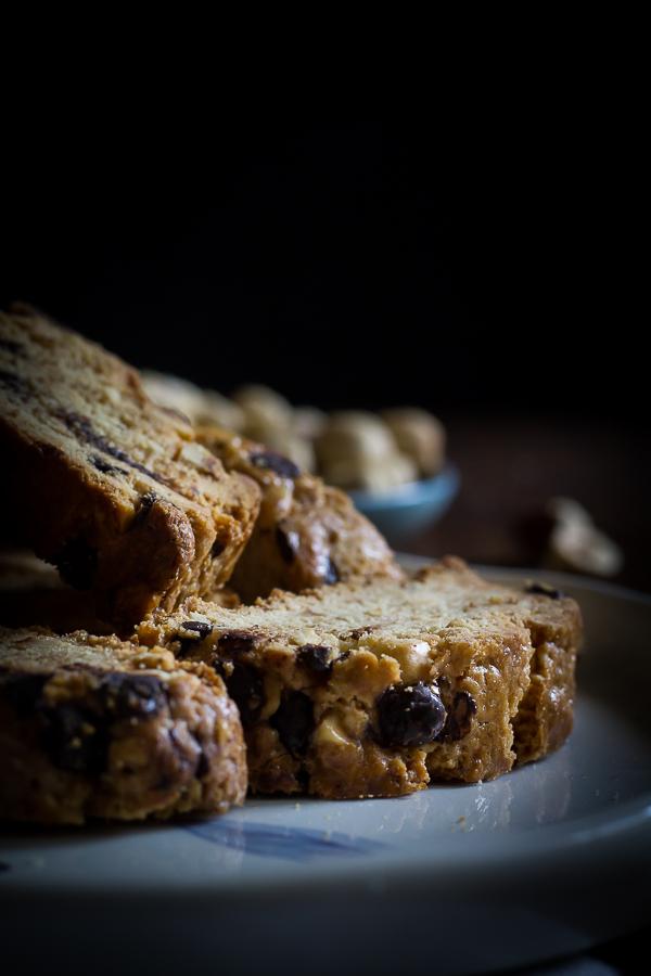 hazelnut chocolate biscotti-8