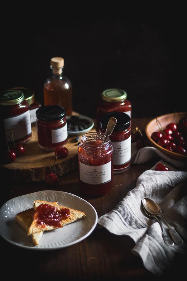 cherry amaretto tonka jam-11