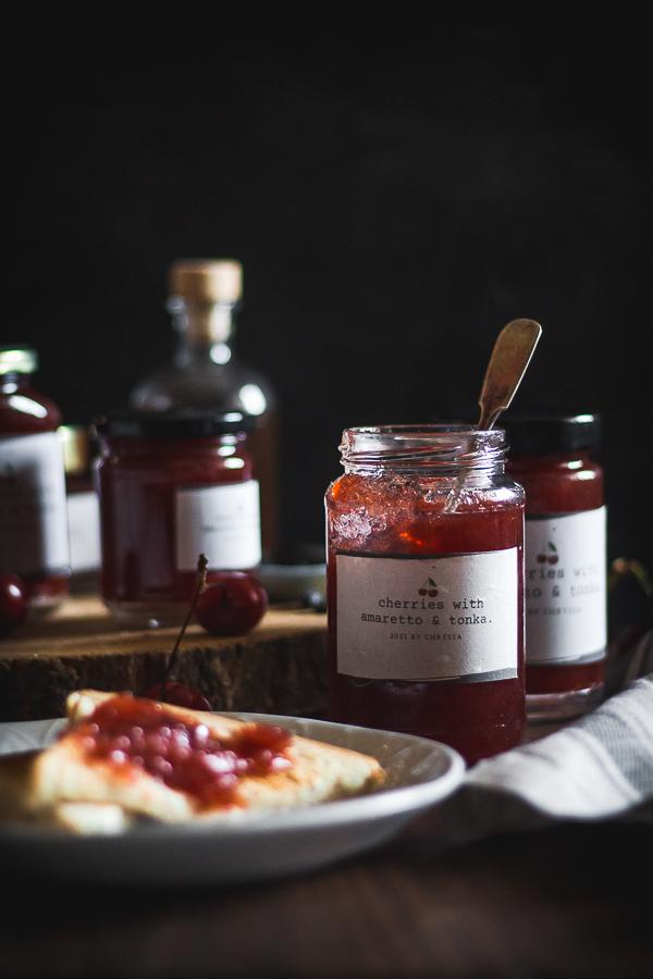 cherry amaretto tonka jam-12