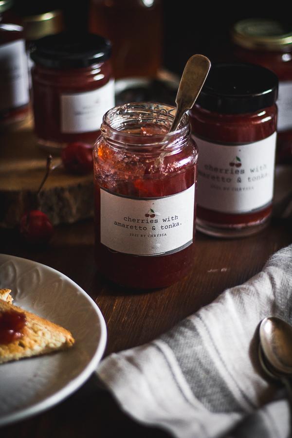 cherry amaretto tonka jam-15