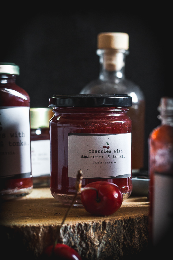 cherry amaretto tonka jam-5
