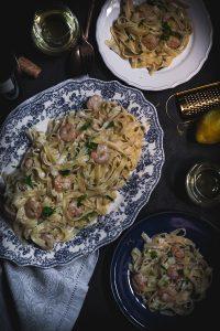 shrimp cream cheese pasta-1