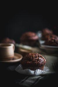 banana chocolate tahini muffins-3